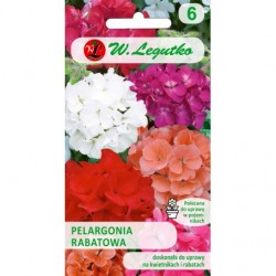 PELARGONIA RABATOWA MIX 0,05G
