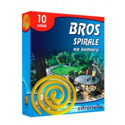 BROS spirale na komary citronella 10szt