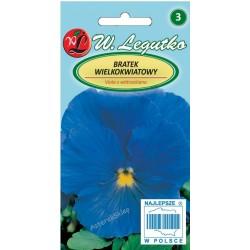 Bratek Szwajcarski wielkokwiatowy - niebieski 0,5G