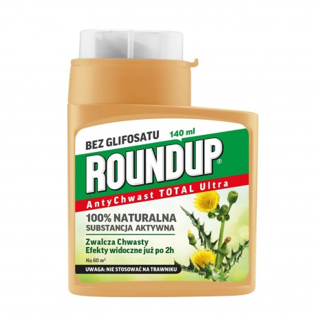 ROUNDUP ANTYCHWAST TOTAL ULTRA 140ML SUBSTRAL