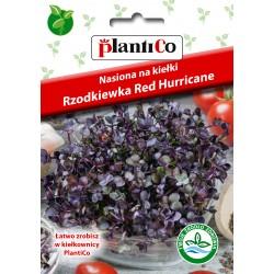 NASIONA NA KIEŁKI RZODKIEWKA RED HURRICANE 10G PLANTICO