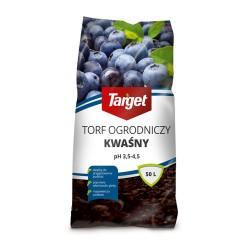 TORF OGRODNICZY KWAŚNY 50L TARGET